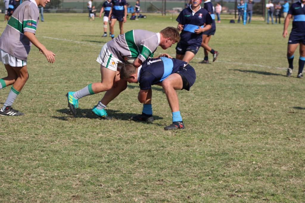 Wessel tackling an opponent