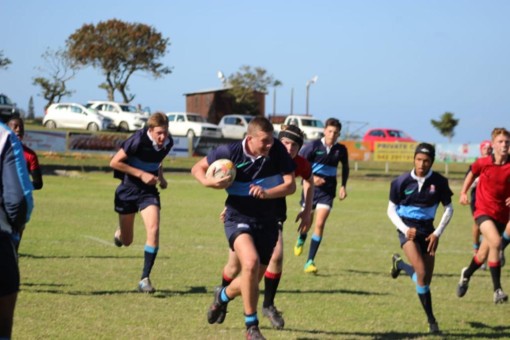 Wessel charging with the ball